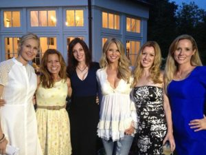 Kelly, Patrice, Susan, Christie, Colleen and Anne